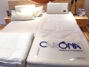 Schlafzimmer - luftgefederte Matratzen